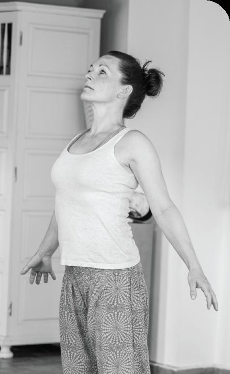 Woman at Mataip Yoga Workshop