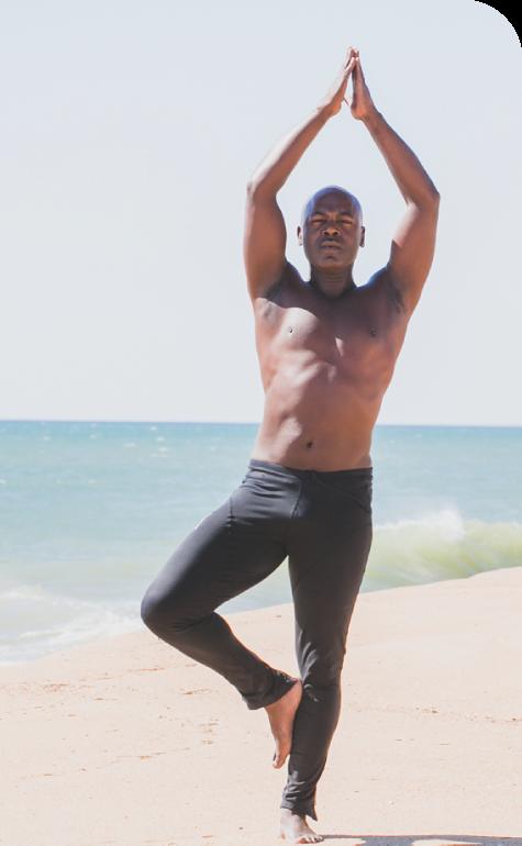 Yoga Pose by your local yoga guru